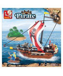 Sluban Lego Pirate Ship Construction Sets