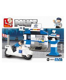 Sluban Lego City Police Station Set