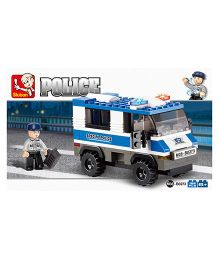 Sluban Police Van Toy