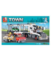 Sluban Track Transporter Construction Sets
