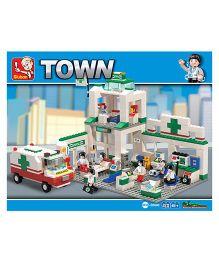 Sluban Lego Emergency Center Construction Sets