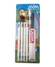 AVM Kids Cricket Set 4 Without Base