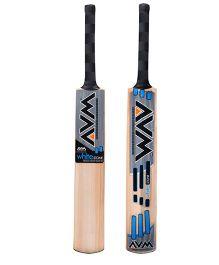 AVM White Stone Kashmir Willow Cricket Bat - Set of 2