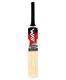 AVM Economy Tennis Poplar Willow Cricket Bat Size - 4