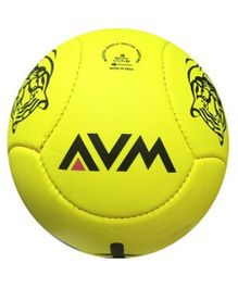 AVM Tiger Football Yellow - Size 5