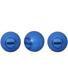 AVM Windball Cricket Ball Pack Of 3 - Blue