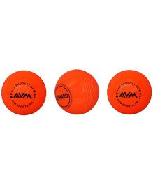 AVM Windball Cricket Ball Pack Of 3 - Red