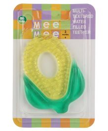 Mee Mee Multi Textured Water Filled Teether Fruit Shape - Yellow