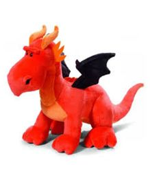Nici Dragon Soft Toy - Orange Black
