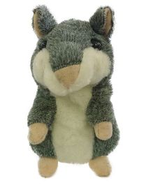 Madsbag Interactive Talking Toy Hamster - Grey