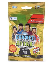 Topps IPL CA 2016 Multipack Multicolor - Pack of 27