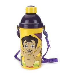 Chhota Bheem Push Button Sipper Bottle yellow - 450 ml
