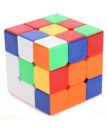 Smiles Creation Colorful And Stickerless Magic Cube - Multicolor