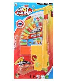 Smiles Creation Shot Game With 10 Soft Bullets - Multicolor