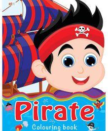 Pirate Coloring Book - English