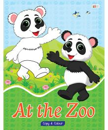 At The Zoo Copy Color Book - English