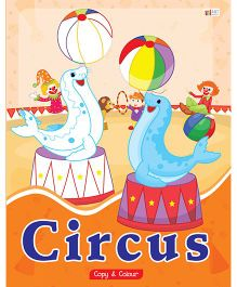 Circus Copy Color Book - English