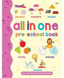 All in One Pre-School Book - English