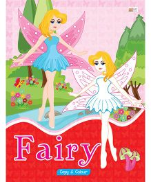 Fairy Copy Color Book - English
