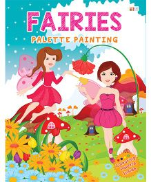 Fairies Palette Painting Book - English