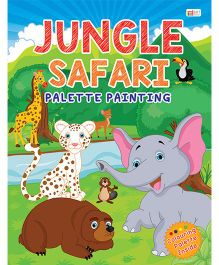 Jungle Safari Palette Painting Book - English