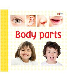 Body Parts Book - English