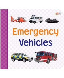 Emergency Vehicles Book - English
