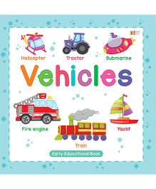 Vehicles Book - English