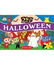 2 In 1 Halloween Puzzle Set - 64 Pieces And 96 Pieces