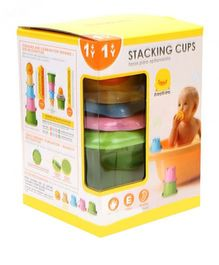 Piyo Piyo Stacking Cups - Multicolor