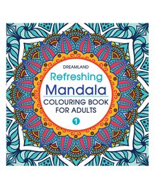 Refreshing Mandala Coloring Book for Adults Book 1 - English & Hindi