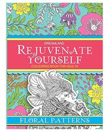 Dreamland Publication Rejuvenate Yourself Floral Patterns - English
