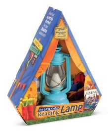 Mufubu The Base Camp Reading Lamp Festival - Blue