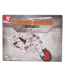 Toy Kraft Minis Bikes Metal Construction System - 80 Parts