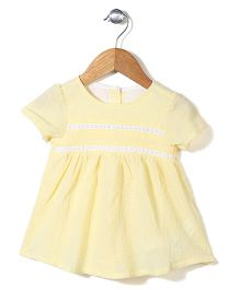 Miss Pretty Summer Dress - Yellow