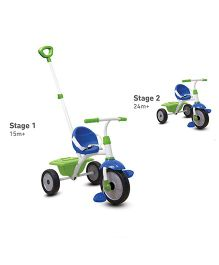 Smartike Fun Tricycle - Blue & Green