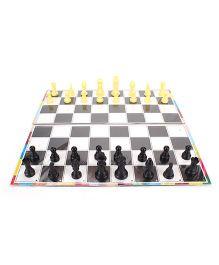 Toyenjoy Chess Senior - Black & White
