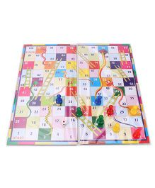 Toyenjoy Ludo and Snakes & Ladders - Multicolor
