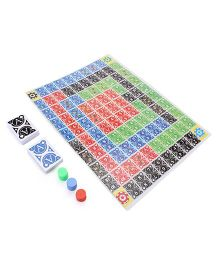 Toyenjoy Lineoo A Game of Sequence - Multicolor