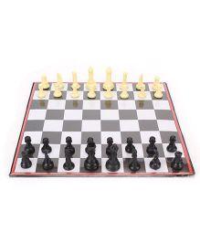 Toyenjoy Magnetic Chess Deluxe  Junior - Black & White