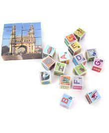 Toyenjoy Taj Mahal Block - Multicolor