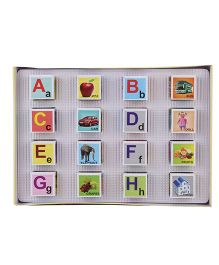Toyenjoy Mini Alphabet Block - Multicolor