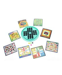 Toyenjoy 11 in 1 Brain Trainer Fun Tastic Game (Color May Vry)