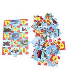 Educational Alphabet Transport - Jigsaw Puzzle