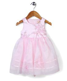 Beautiful Girl Elegant Party Dress - Pink