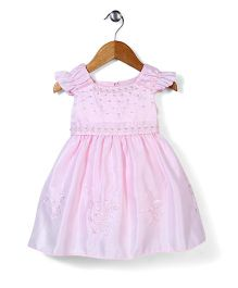 Beautiful Girl Lovely Party Dress - Pink