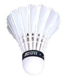 Silver's 786 Feather Shuttlecock White - Pack of 10