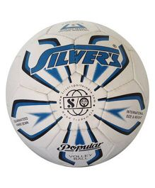 Silver's Popular Volleyball White - Size 4