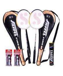 Silver's Fire Badminton Kit