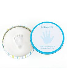 Pearhead Babyprints Tin - Blue